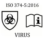 EN 374-5 Schutzhandschuh gegen Viren