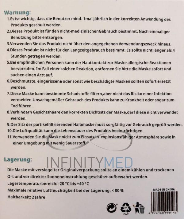 NMS FFP2 Anleitung