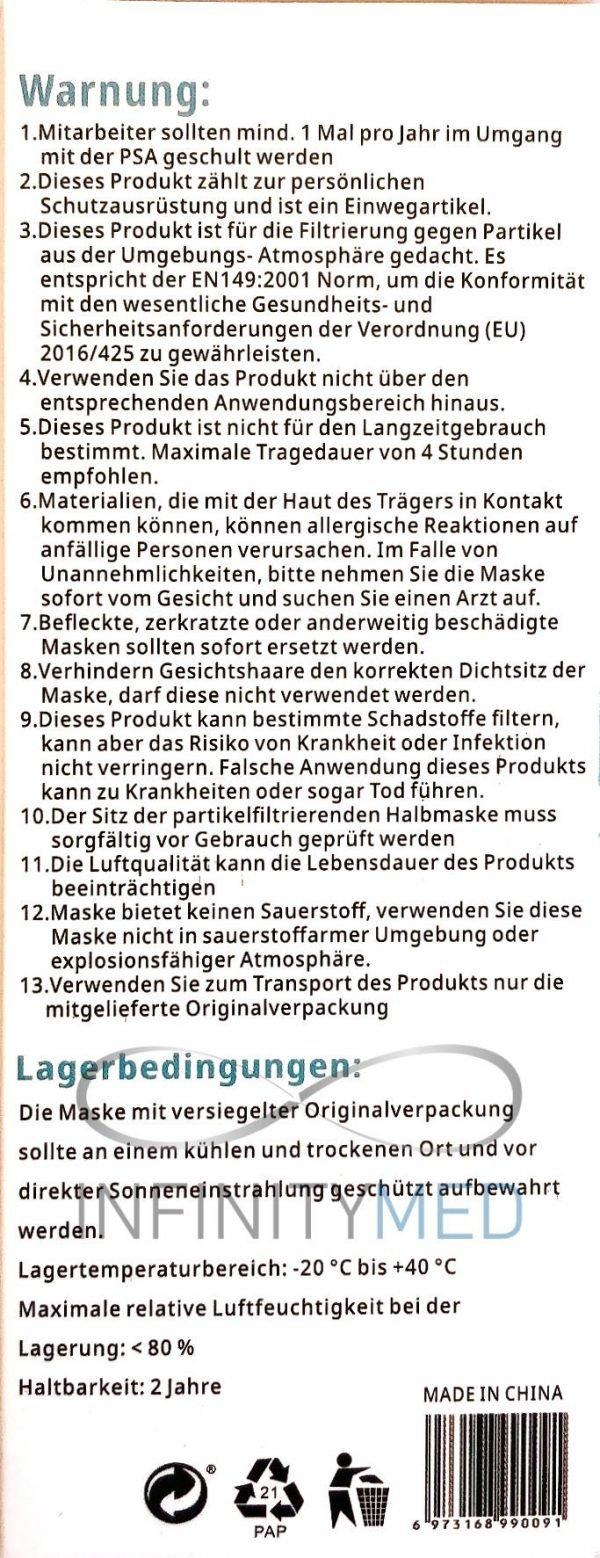 Atemschutzmaske FFP3 Anleitung Teil 2