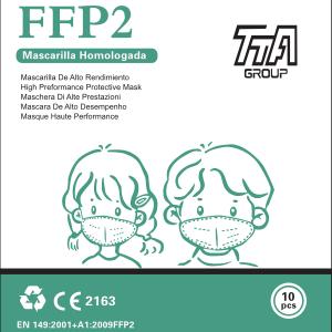 Kinder FFP2 Atemschutzmasken