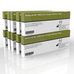 MedicoVid Laien Schnelltest, 10er Pack
