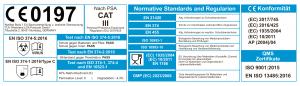 Normen und Zertifikate für Nitril Handschuhe